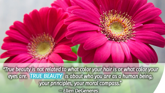 true beauty quote Macafem