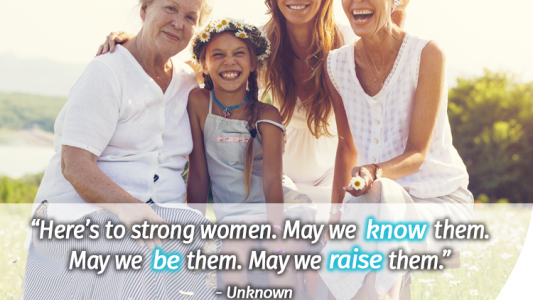 International Women's Day quote Macafem