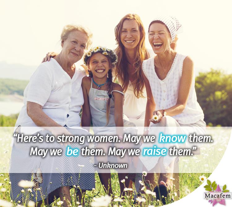 International Women's Day quote Macafem