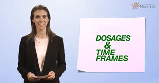 1 macafem reviews dosage and time frames