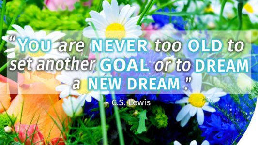 What's stopping you from achieving new dreams