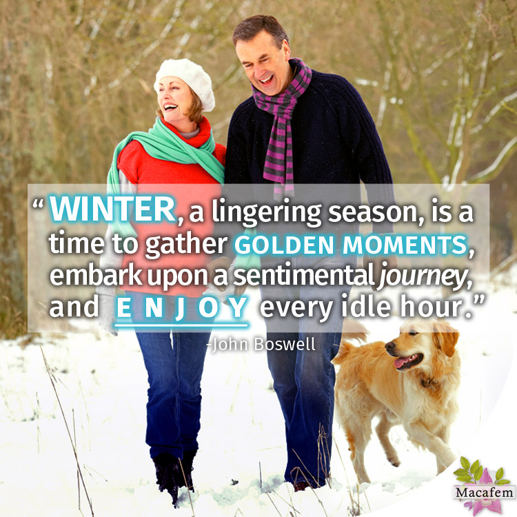 What's your favorite thing about the winter