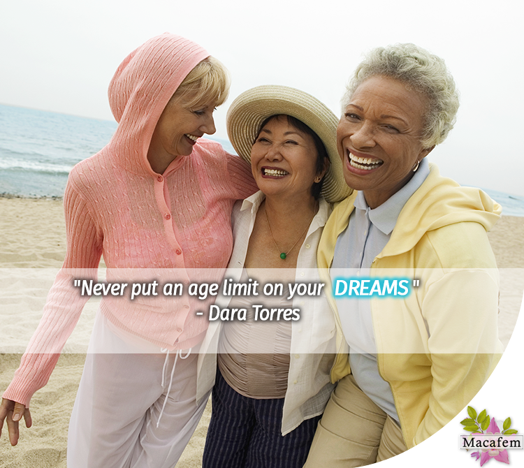 Never put an age limit to your dreams