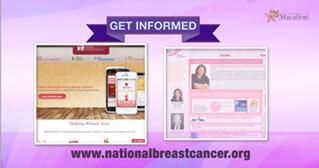 get informed about breast cancer october