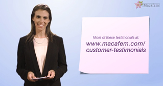 5 macafem review dosages and time frames