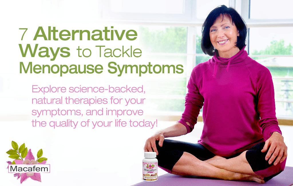 7 alternative ways to tackle menopause symptoms