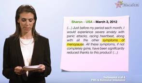 PMS hormonal imbalance macafem testimonials 5