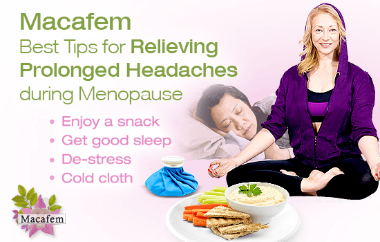 Tips to Relieve Prolonged Headaches during Menopause