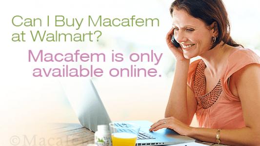 buy macafem at walmart
