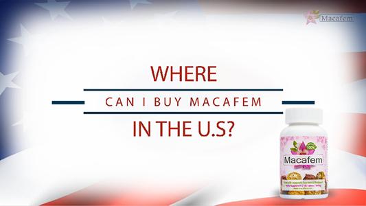 buy macafem united states