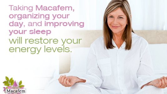 A Daily Routine To Regain Energy With Macafem