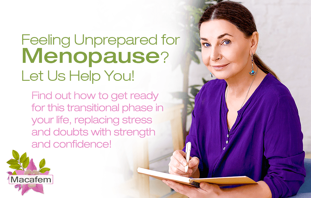 feeling unprepared for menopause let us help you
