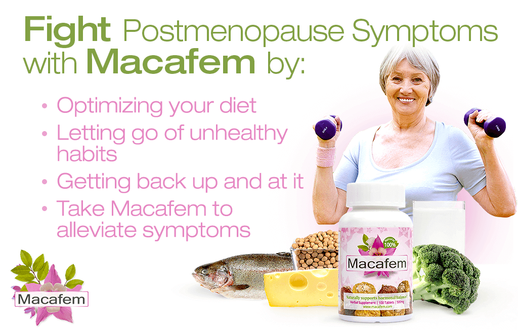 fight postmenopause symptoms with macafem