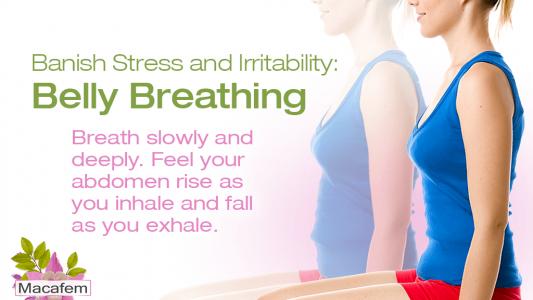5 breathing exercises to banish irritability with macafem