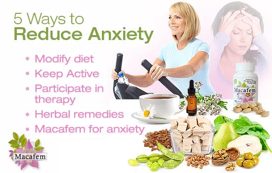 macafem 5 ways to reduce anxiety