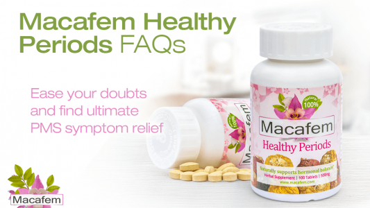 macafem alleviate pms symptoms with macafem healthy periods