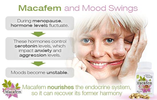 macafem and mood swings