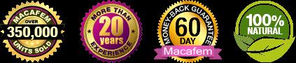 Macafem trust badges