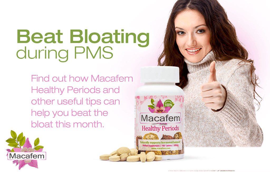 beat bloating during pms