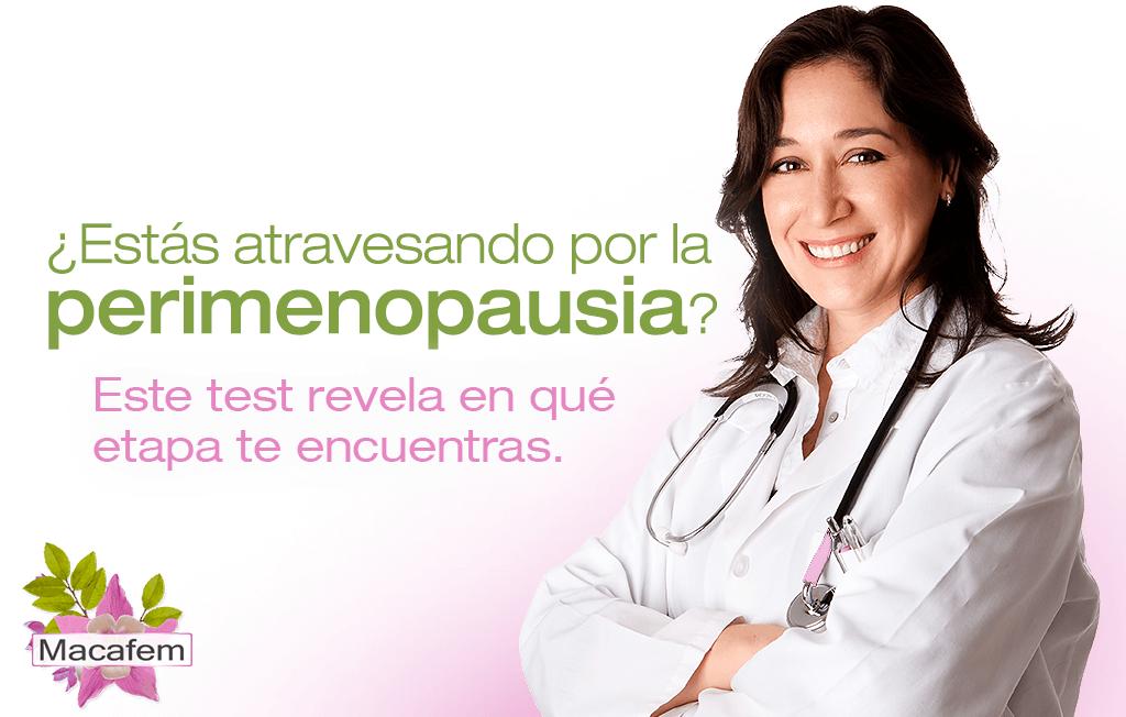 macafem estas atravesando por la menopausia