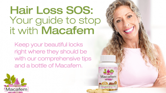 hair loss sos your guide to stop it with macafem