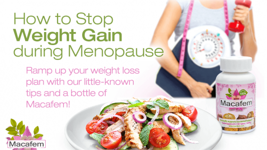 how to stop weight gain during menopause