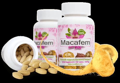 Macafem suplemento 100% natural