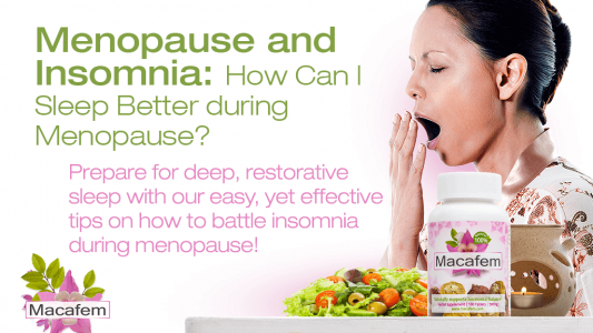 menopause and insomnia how can i sleep better