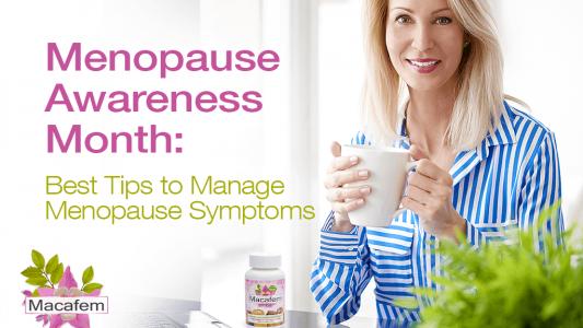 macafem menopause awareness month