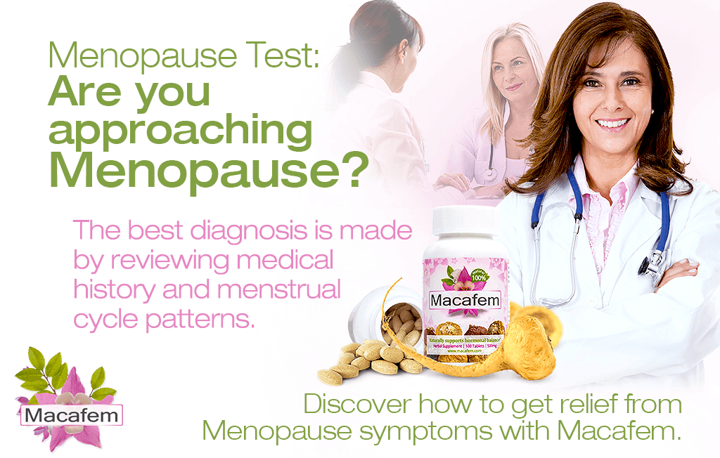 menopause test are you approaching menopause