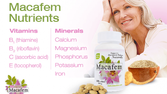 Macafem Nutrients
