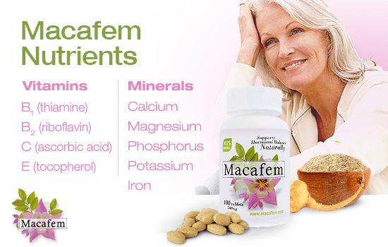 Macafem Nutrients