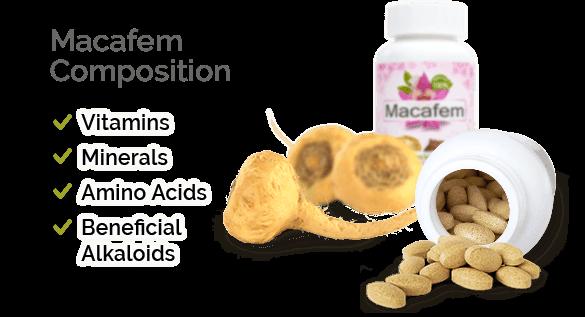 macafem-nutritional-composition