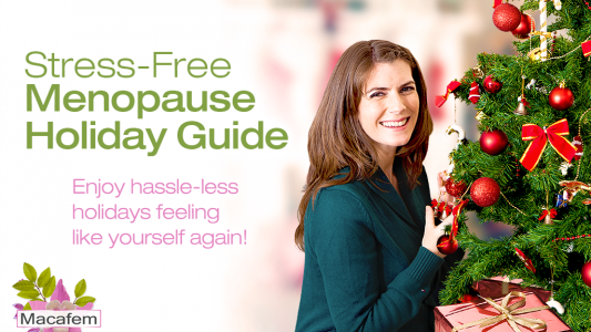 macafem stress free menopause holiday guide
