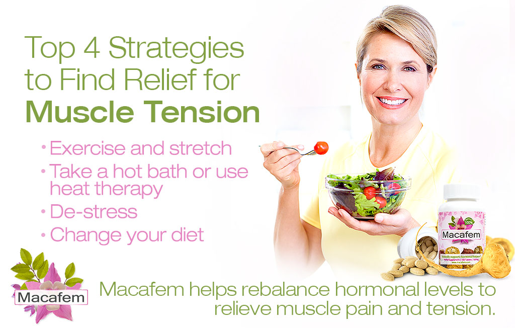 macafem top 4 strategies to find relief for muscle tension