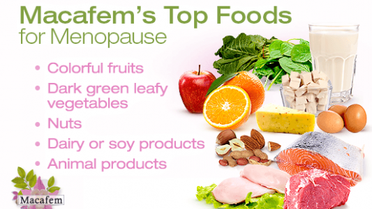 macafem top foods for menopause
