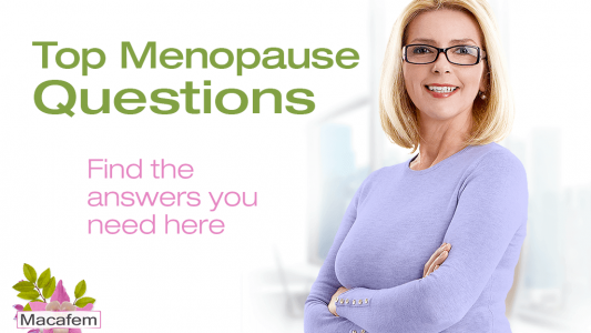 macafem top menopause questions answered