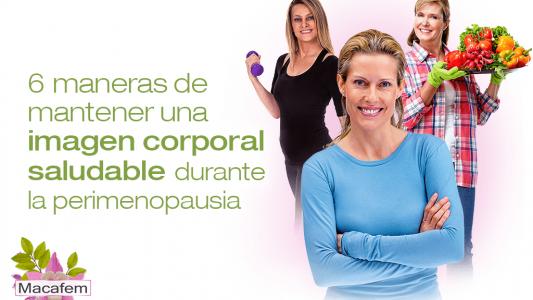 6 maneras de mantener una imagen corporal saludable durante la perimenopausia