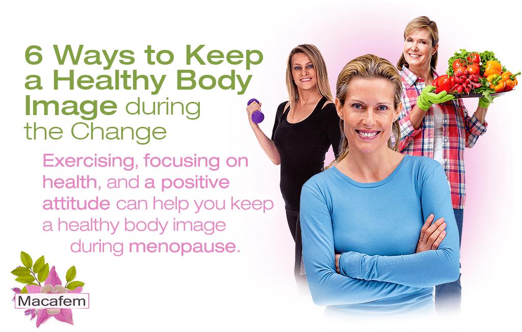 6 ways keep healthy body image change