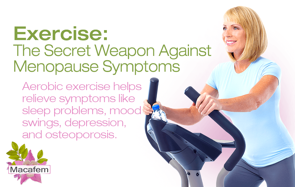 exercise secret weapon against menopause symptoms