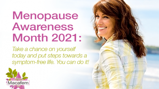menopause awareness month take a chance on yourself