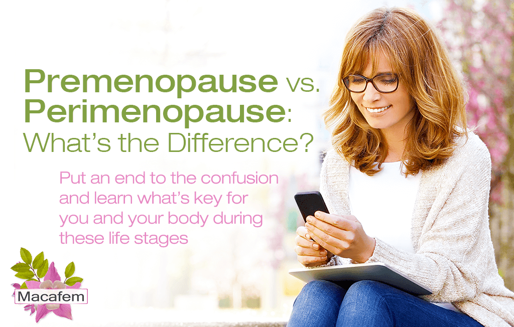 premenopause vs perimenopause what's the difference