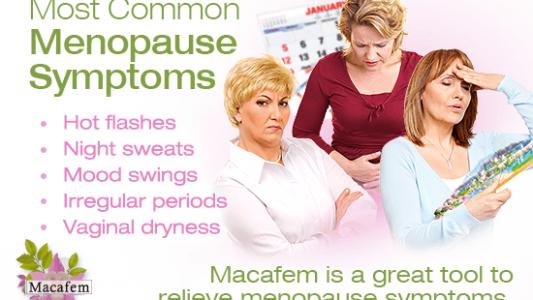 top 5 most common menopause symptoms