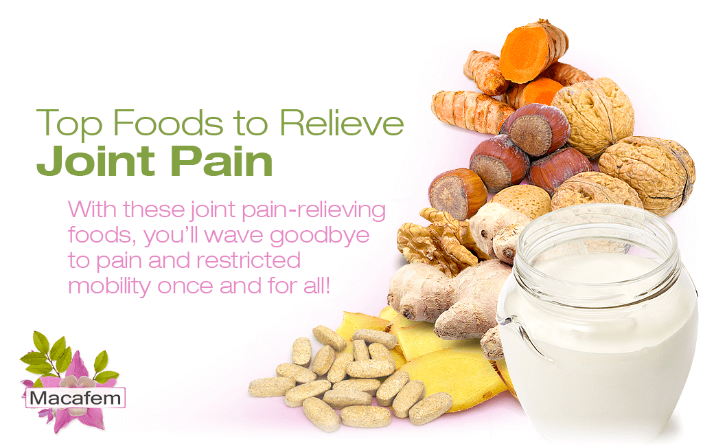 top foods to relieve joint pain