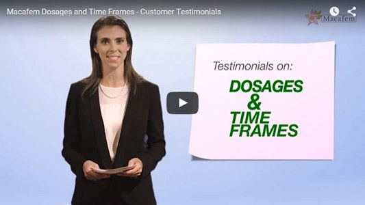 video dosage testimonials